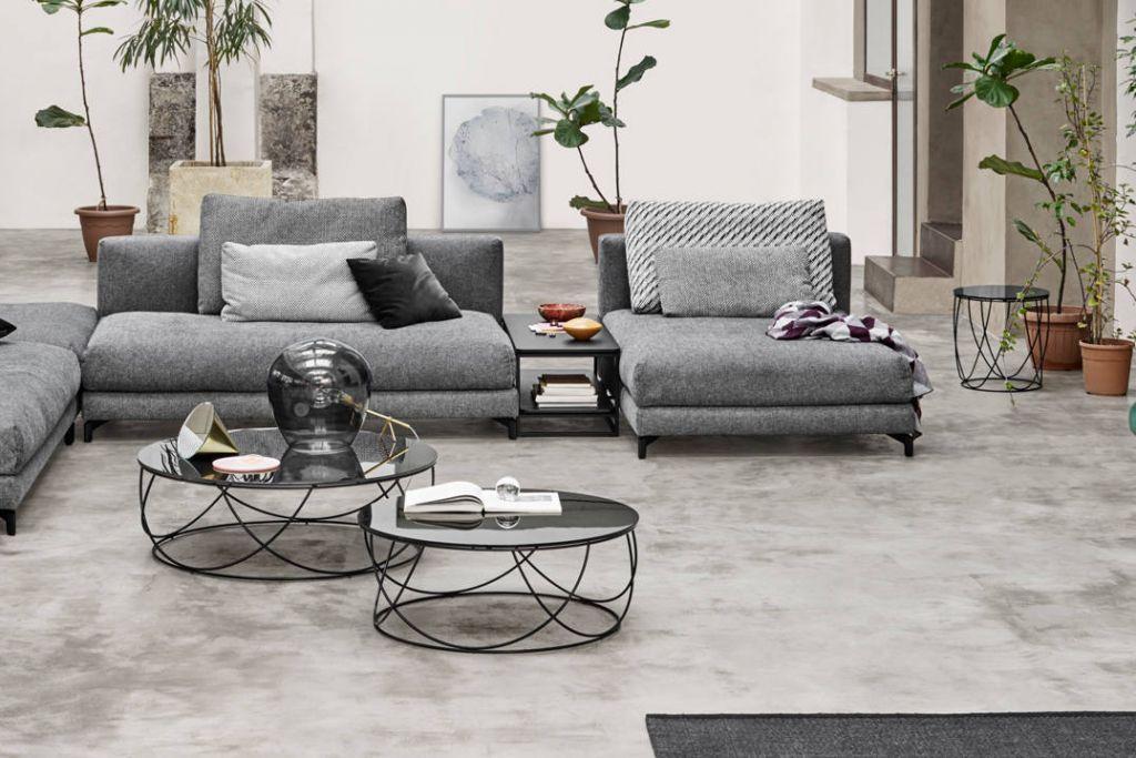 Studio Anise Rolf Benz Nuvola Sofa And 8770 Coffee Table
