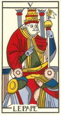 Tarot de Jean Dodal, III Imperatris, restauration par JC Flornoy