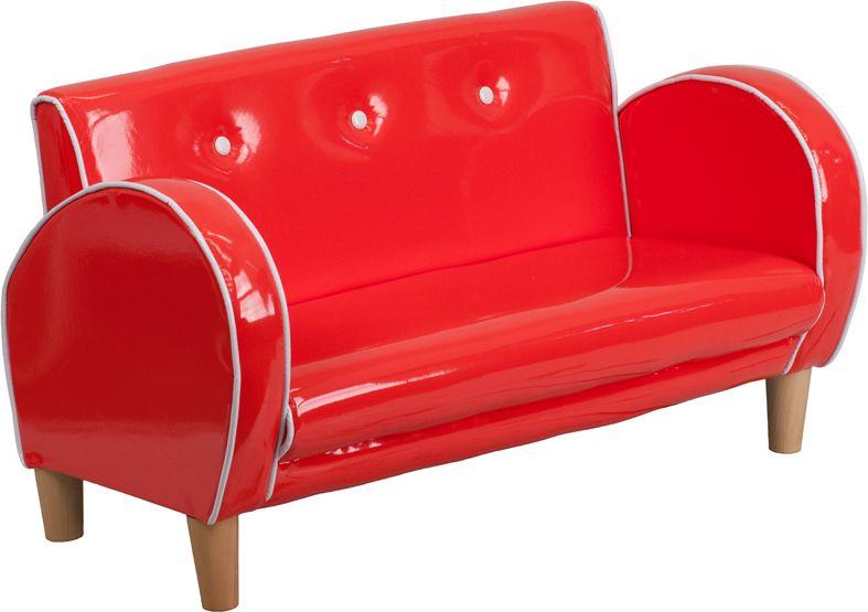 Kids Loveseat Red, Flash Furniture Dealers