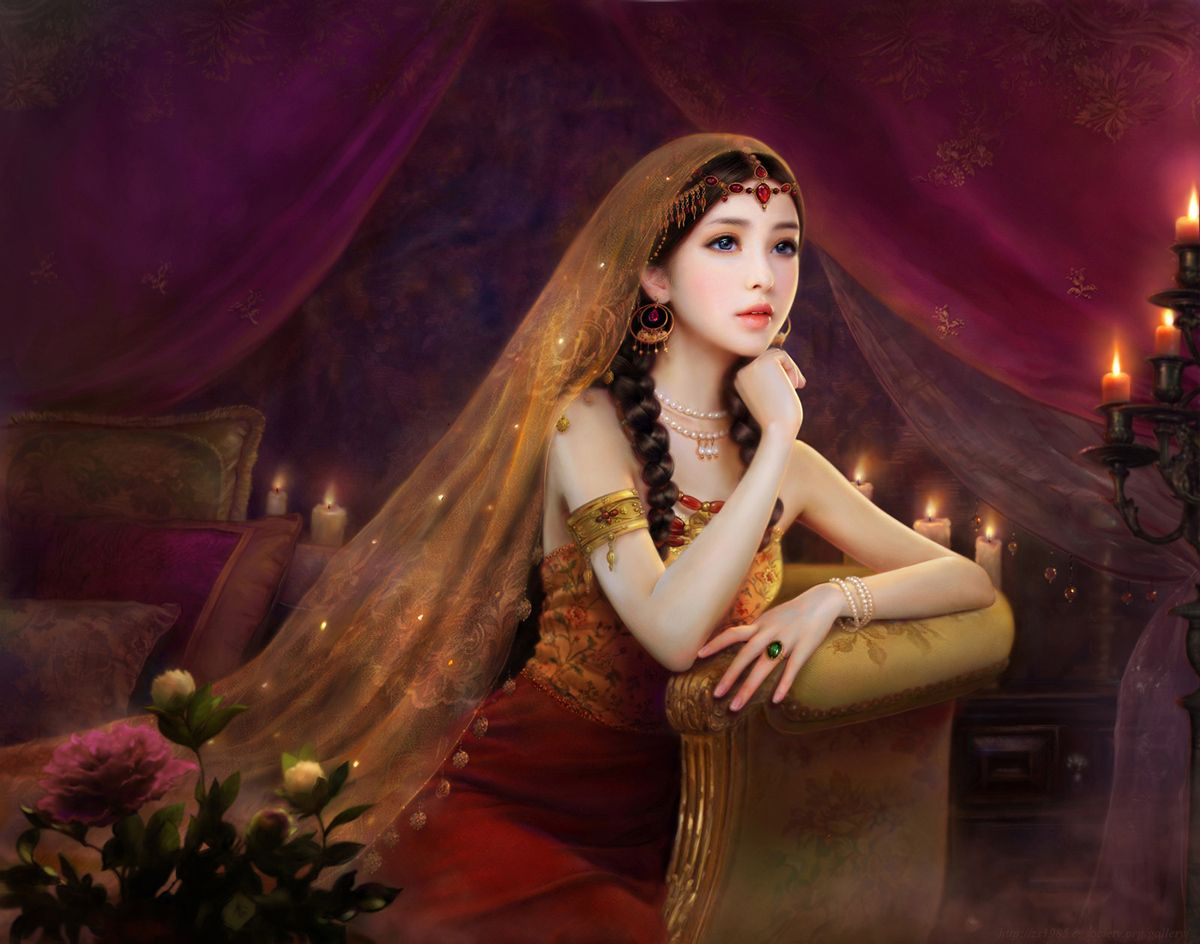 Image result for candle and the past lives fantasy art