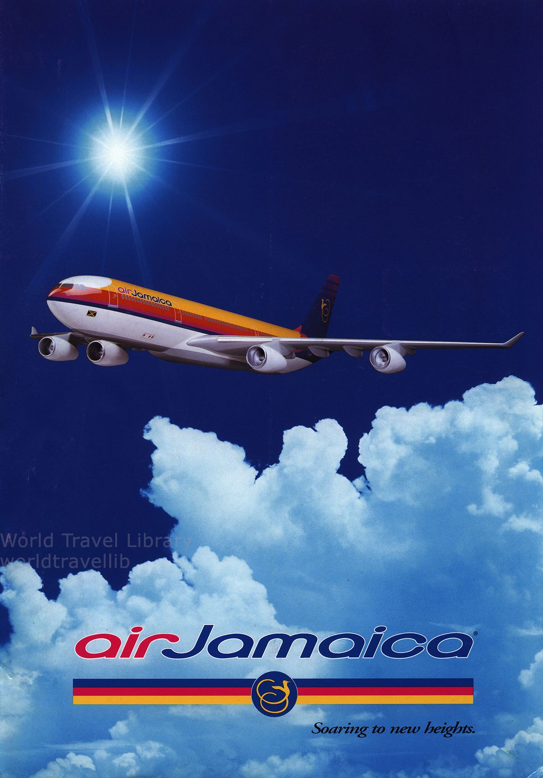 Air Jamaica Arrive in style on board our new A340300