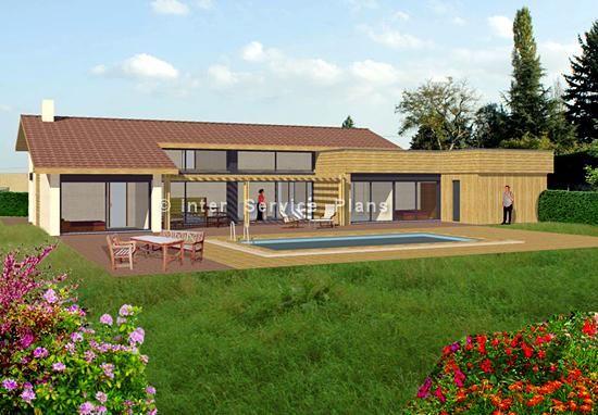 Maison du0027architecte sur terrain en pente à côté de Toulouse - construction maison terrain en pente