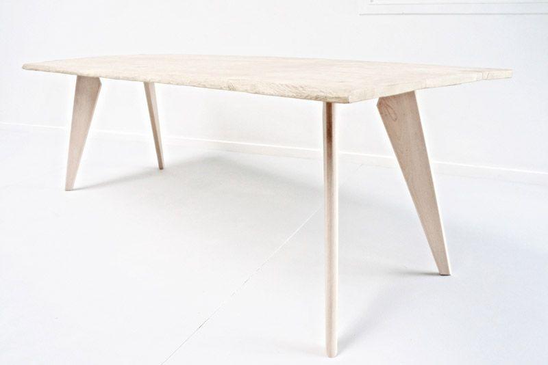 Pieds De Table Et Meuble Design En Bois Style Scandinave