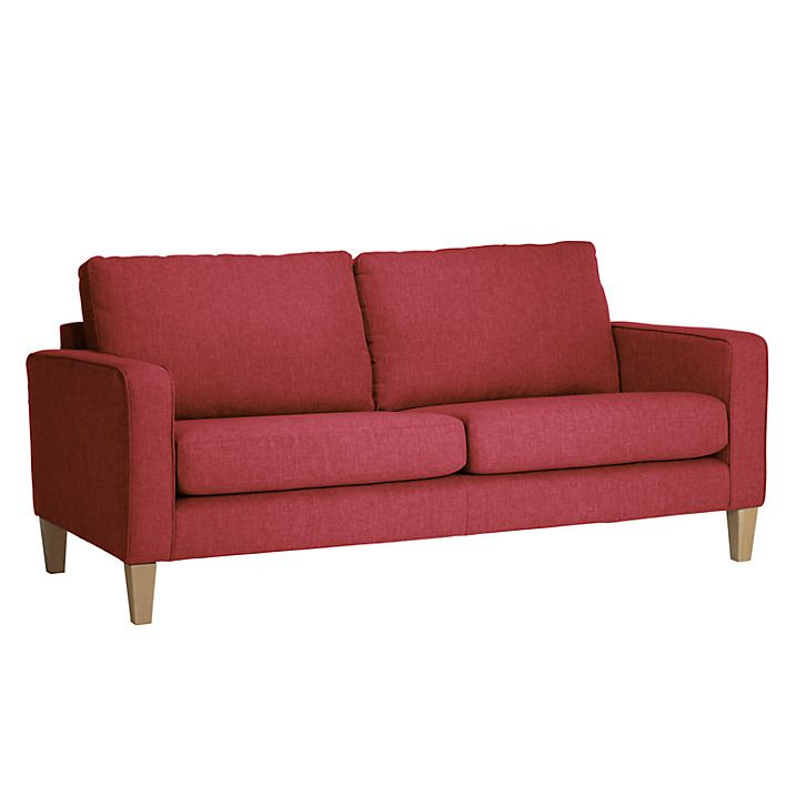 Exceptional John Lewis Small Sofa Part - 11: Buy John Lewis The Basics Jackson Small Sofa, Hayden Red Online At Johnlewis .com