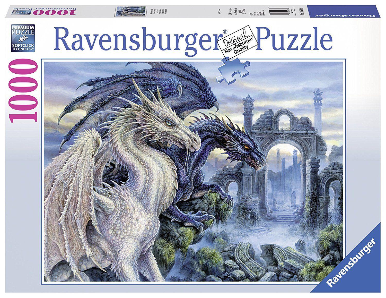 Amazon Com Ravensburger Mystical Dragons Jigsaw Puzzle 1000 Piece Toys Games Ravensburger Puzzle Ravensburger Jigsaw Puzzles