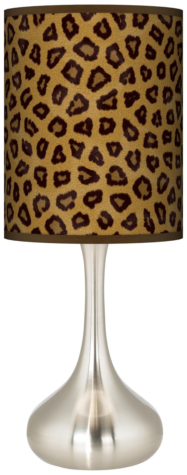 Safari cheetah giclee droplet table lamp cheetahs safari and safari cheetah giclee droplet table lamp geotapseo Image collections
