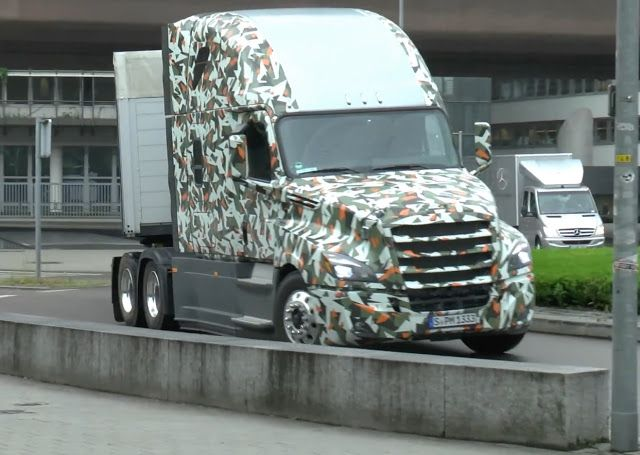 2018 Freightliner Cascadia Evolution Concept Freightliner Trucks Freightliner Freightliner Cascadia