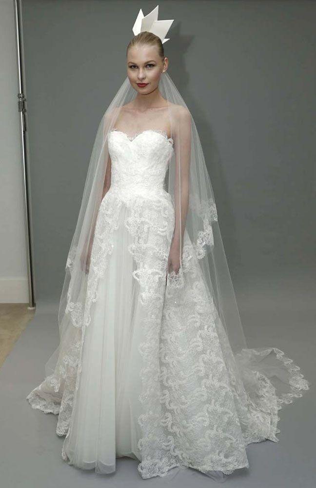 4c645fd69 bridal week 2015 mejores looks vestidos de novia desfile tendencias  nupciales
