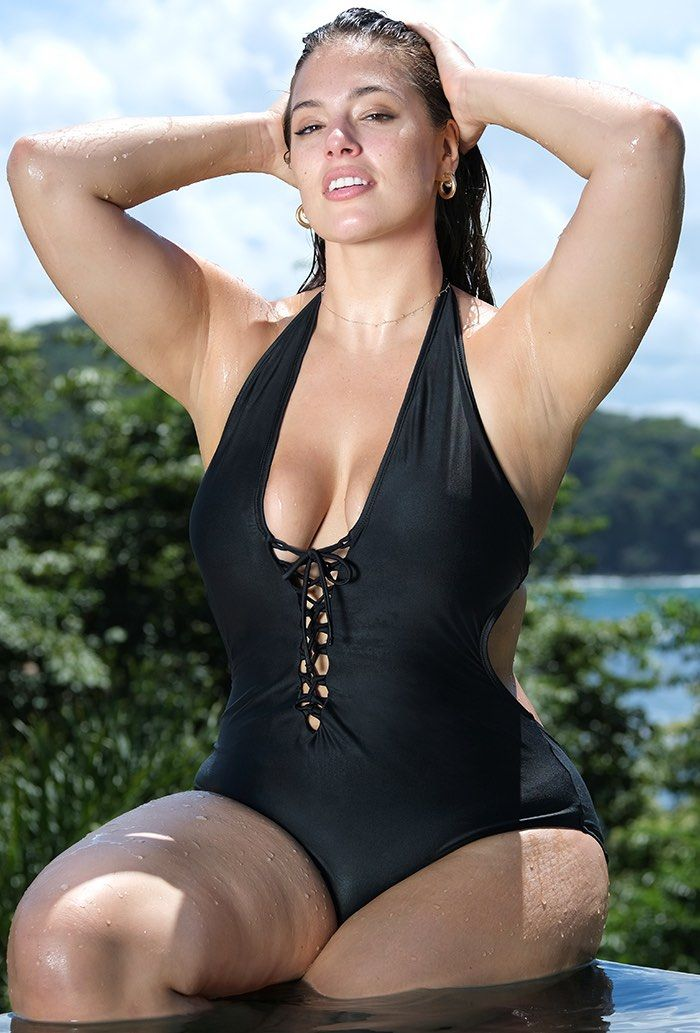 c67fc9ee326d Swim Sexy Ashley Graham x Swimsuits For All VIP Black Swimsuit, Size 6,  Black