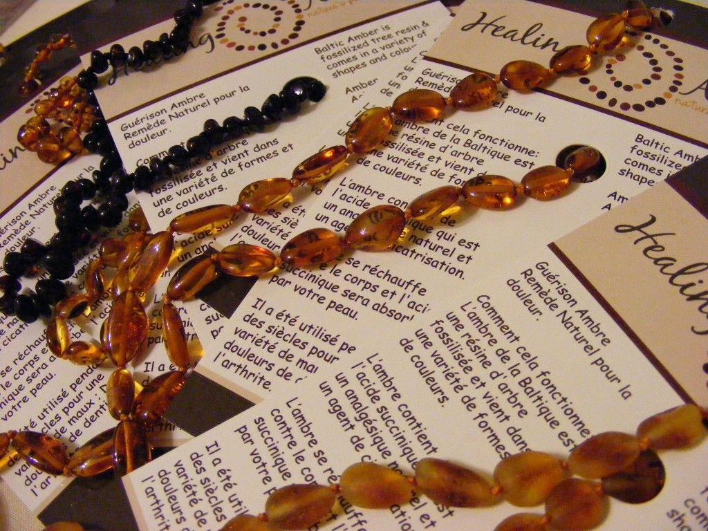 Healing Amber Necklaces