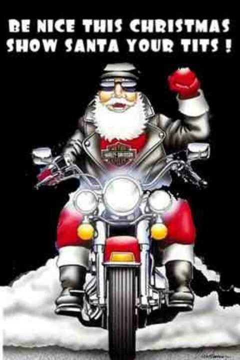 6198e0ad Biker Santa | MAKES MY HEART SING | Harley davison, Cheap motorcycle ...