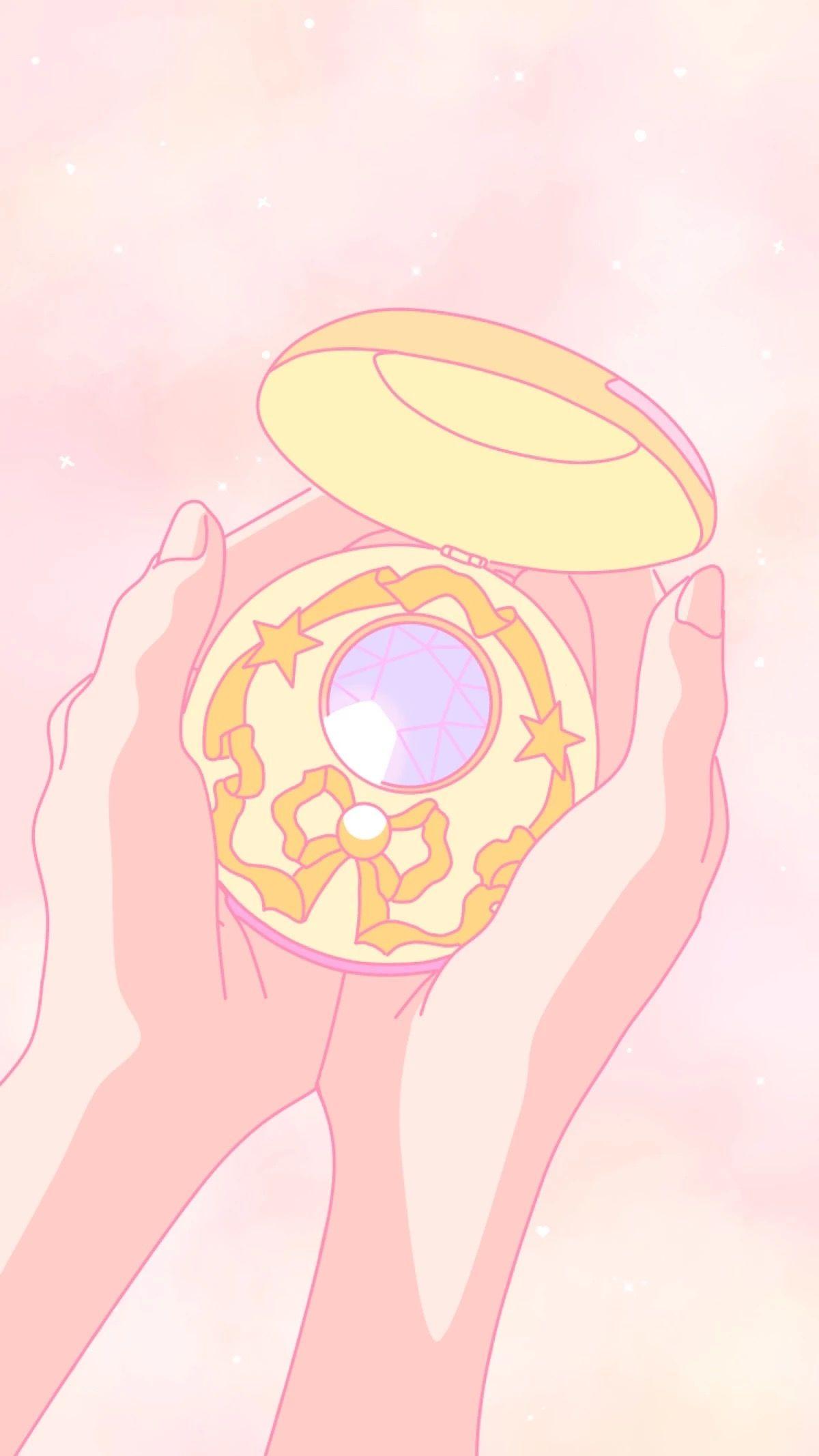 Sailor Moon Brooch セーラームーン Iphone セーラームーン セーラームーン 壁紙