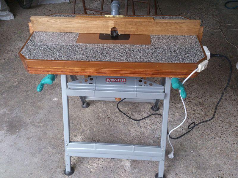Bancada o mesa para fresadora todo el desarrollo de for Mesa para fresadora