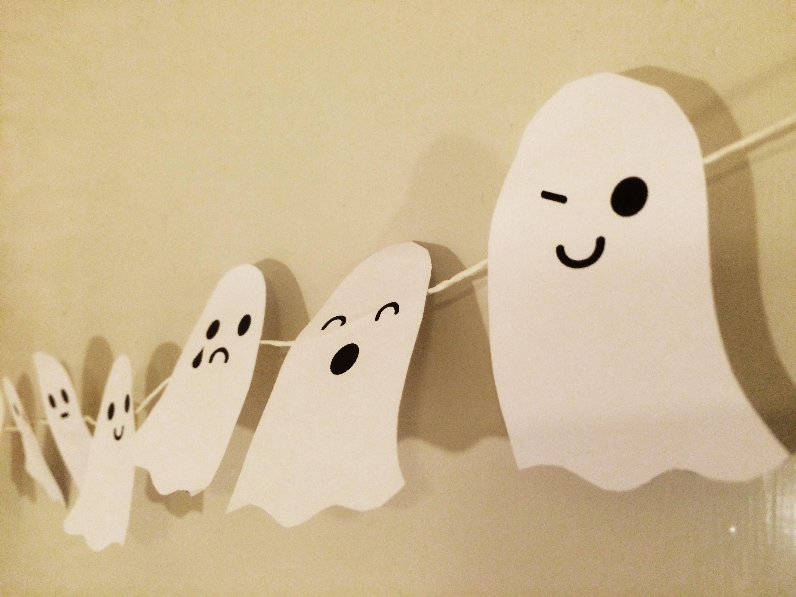 Kummitukset | lasten | askartelu | syksy | halloween | syksy ...