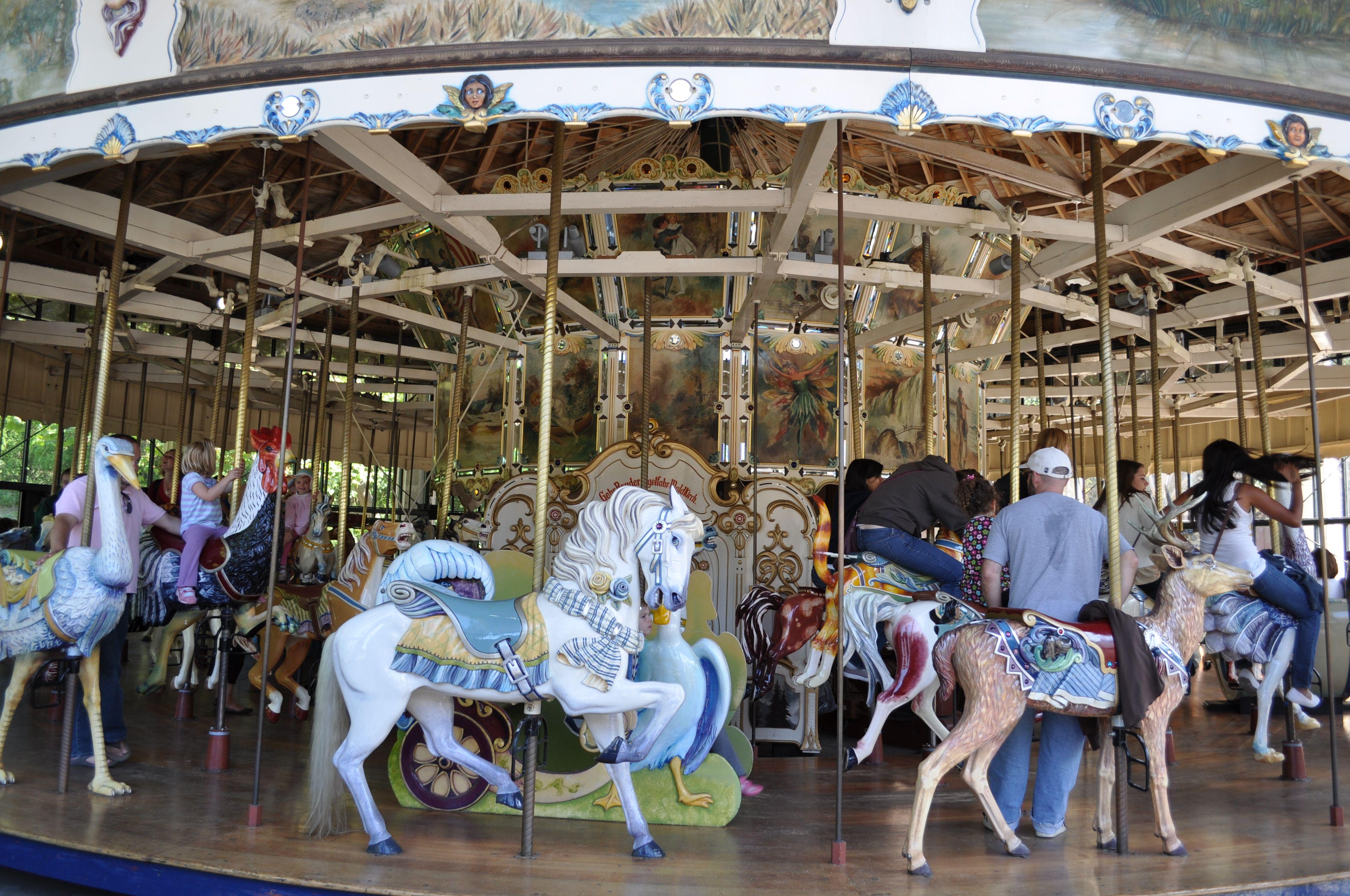 Carousel at Golden Gate Park in San