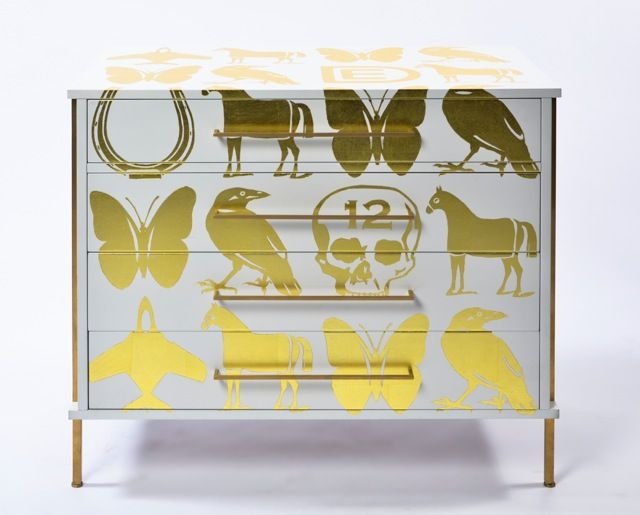 Buy Dylan Egon For ReGeneration. Gold Leaf On Lacquer. By Regeneration    This Brand Is No Longer Available On Dering Hall   Made To Order Designer  Furniture ...