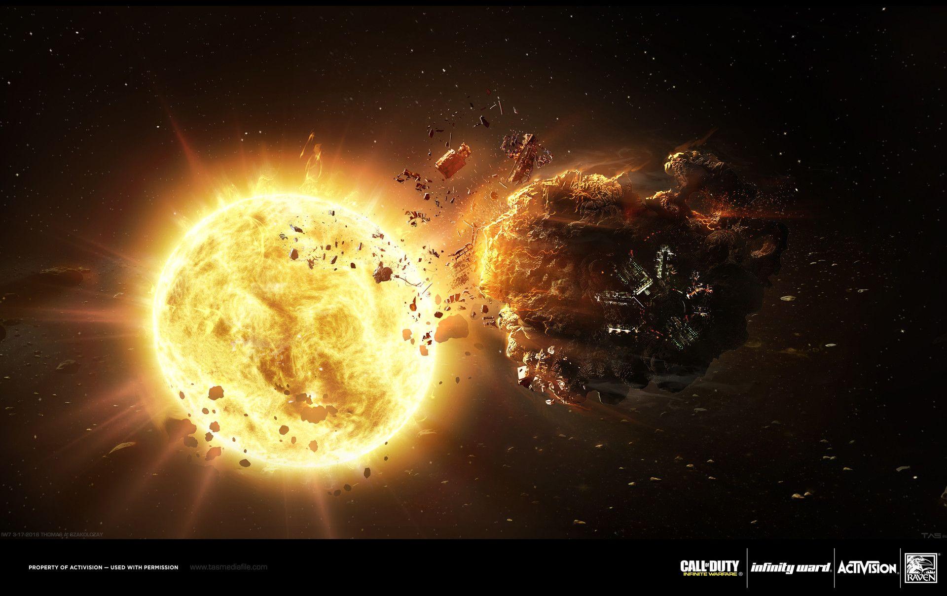 ArtStation - Space Concepts - Call of Duty: Infinite Warfare, Thomas A. Szakolczay
