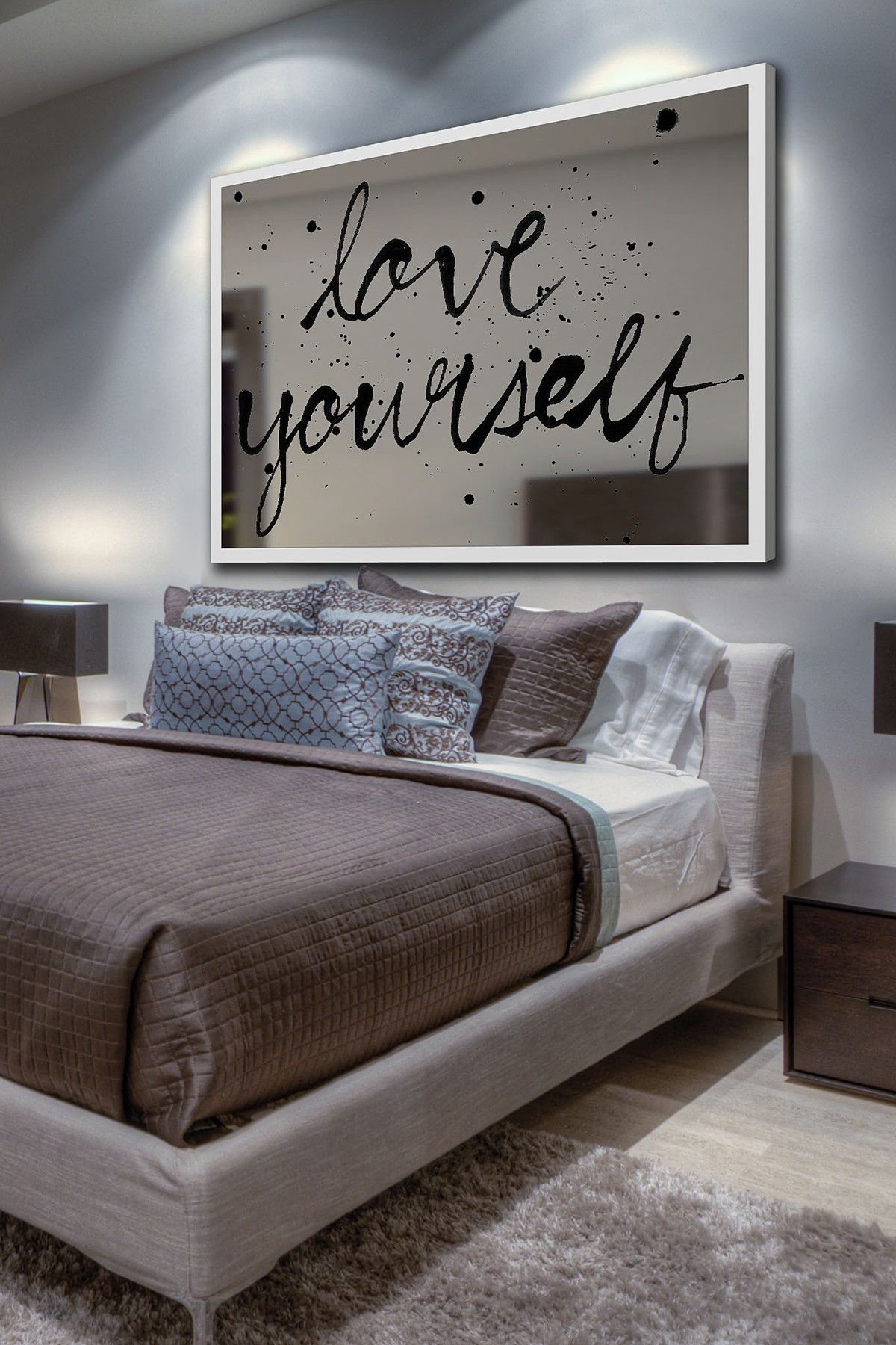 marmont hill inc love yourself mirror wall art mirror on mirror wall id=66761