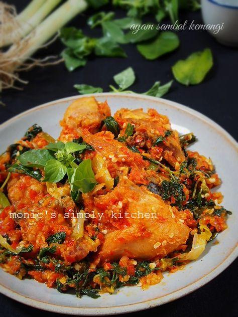 Ayam Sambal Kemangi Resep Ayam Makan Malam Resep Masakan Asia