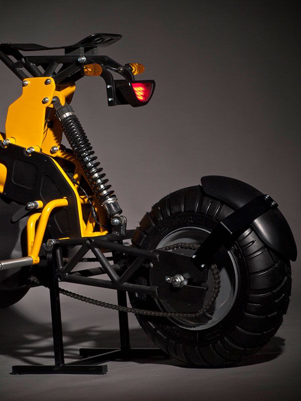 Dongo Electric Modular Motorcycle By Otto Polefko Concept