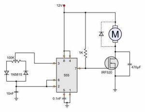[WLLP_2054]   Very simple 12V motor speed controller with E555 timer | Motor speed, Circuit  diagram, Circuit | Dc Motor Control Wiring Diagram |  | Pinterest