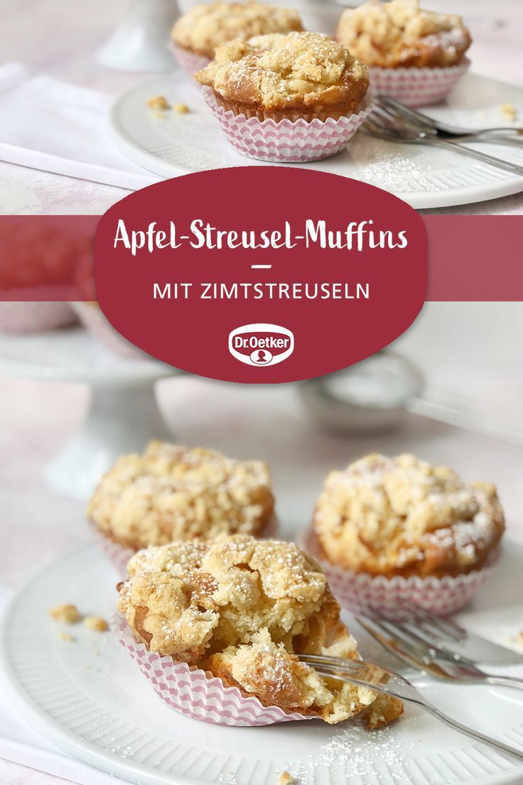 Apfel-Streusel-Muffins