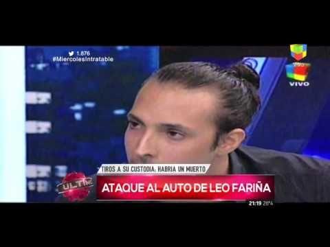 Intentaron robar el auto de Leonardo Fariña  un custodio mató a un ladrón