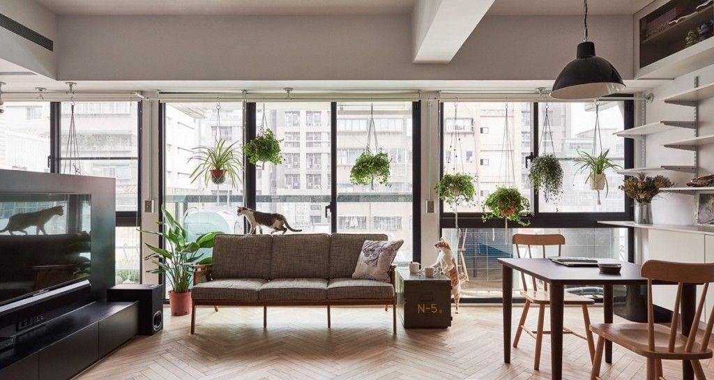 Aménagement dun appartement de 33 m2 à moscou par studio bazi maisons historiques grande bibliothèque et moscou