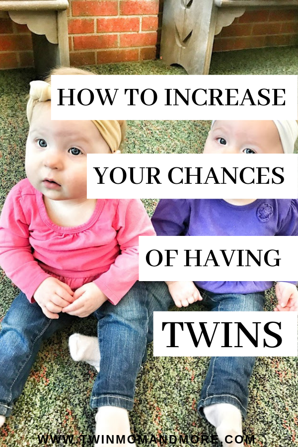 How to Increase Your Chances of Having Twins: Here are proven ways to boost your fertility and up your odds for conceiving twins naturally. If you want twins or are just curious about how to conceive twins, this has all of the answers for you! #expectingtwins #twinpregnancy