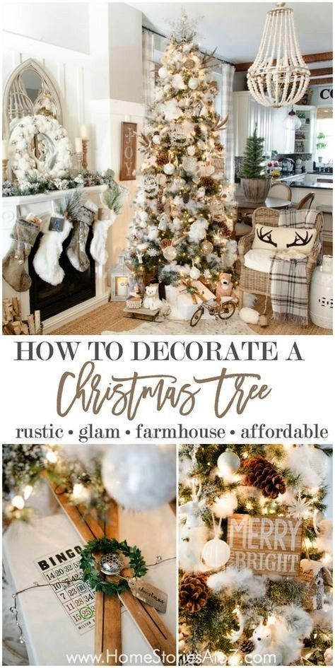 christmas tree skinny 58 IdeaschristmasFarmhouse christmas tree skinny 58 Ideaschristmas Our gorgeous Christmas tree decorating ideas will give you 30 different unique fu...