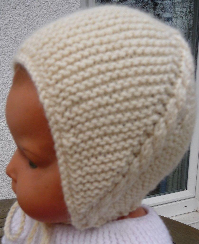 modèle tricot bonnet bébé naissance gratuit | Comment tricoter un bonnet, Bonnet bébé tricot ...
