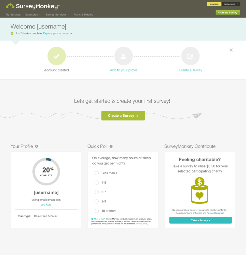 Surveymonkey Dashboard How To Plan Quick Poll Create Yourself