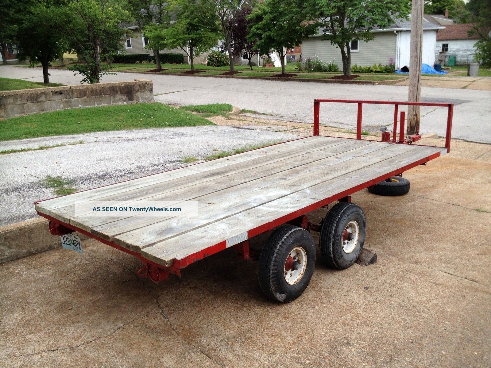 Flatbed Utility Trailer 5 1/2 X 12 Trailers photo
