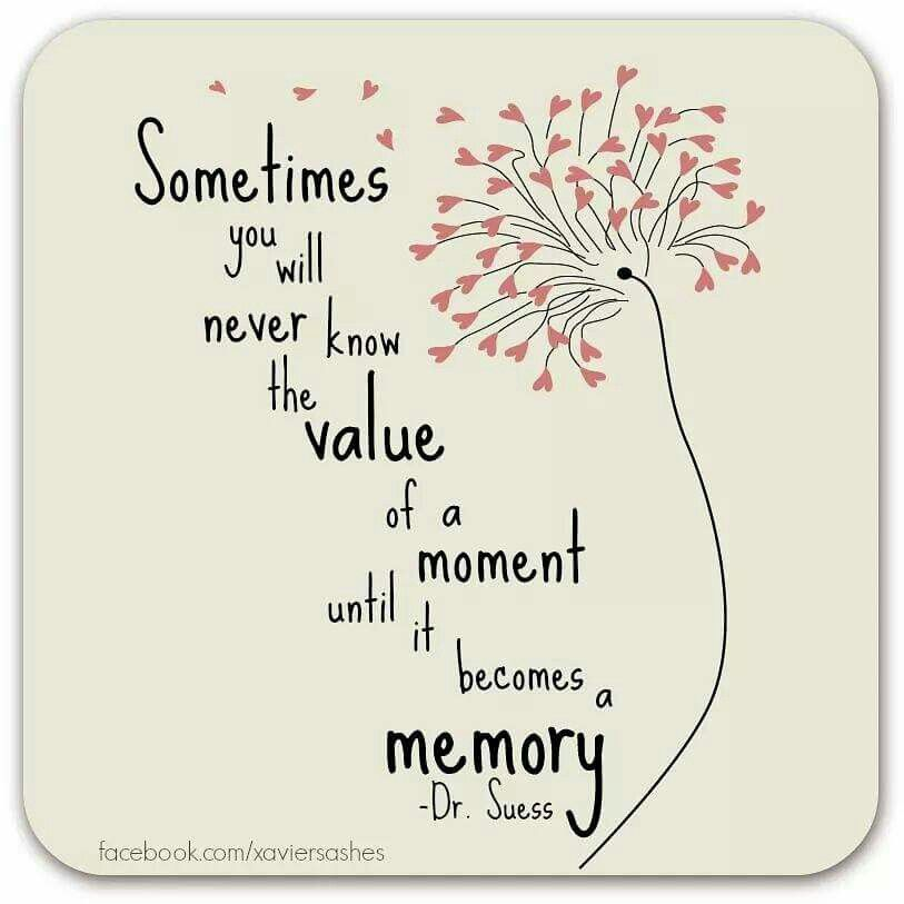 Value Of A Mother Quotes: Sometimes You Will Never Know The Value Of A Moment Until
