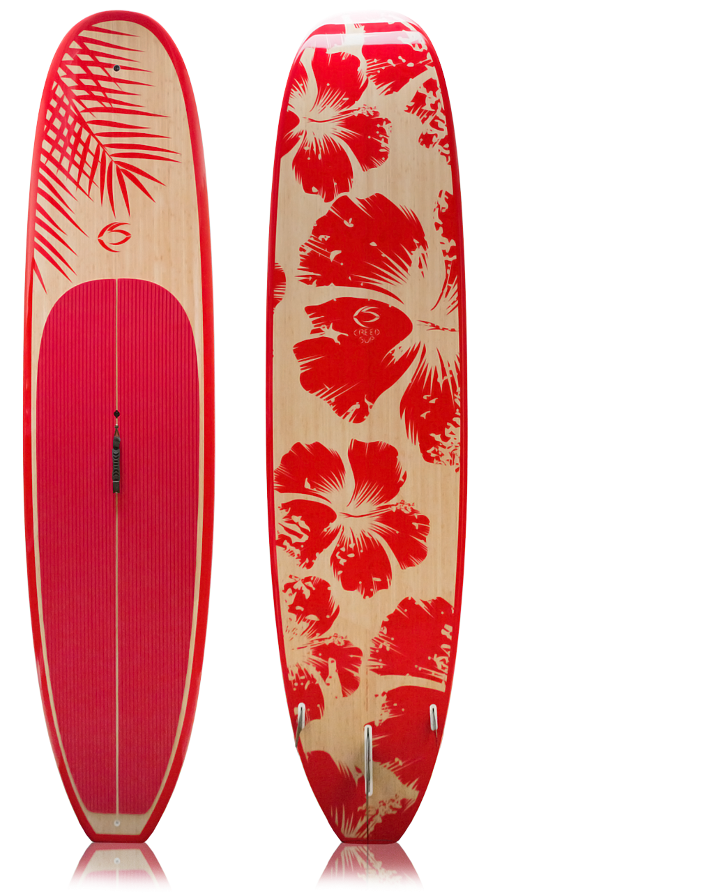 2820ab638a 11 foot bamboo paddle board |Creed SUP Talon Model - Red Veg | Salt ...