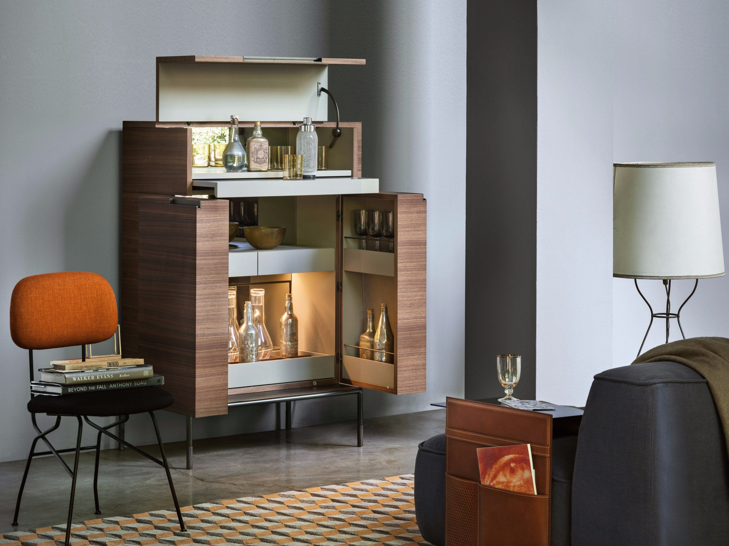 Winston Mobile Bar by LEMA in 2020 Bar furniture, Luxury