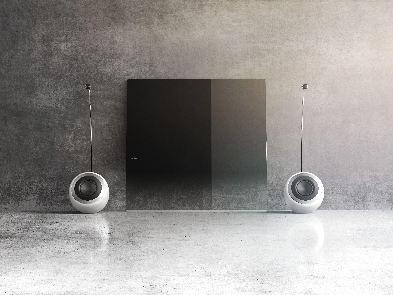 design line tv by frank rettenbacher for philips television speakers pinterest product design. Black Bedroom Furniture Sets. Home Design Ideas