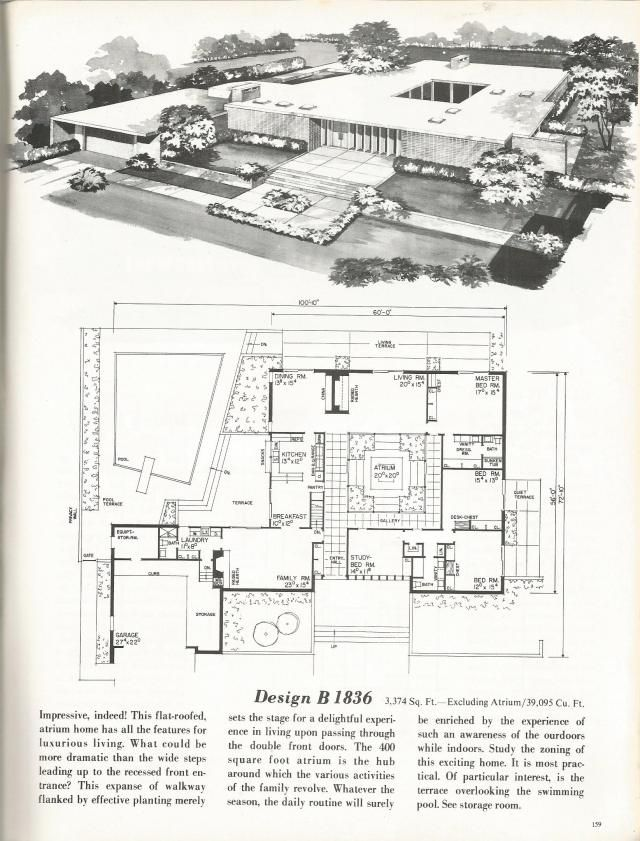 Vintage House Plans New And Refreshing Mid Century Contemporary Mid Century Modern House Plans Vintage House Plans Mid Century House