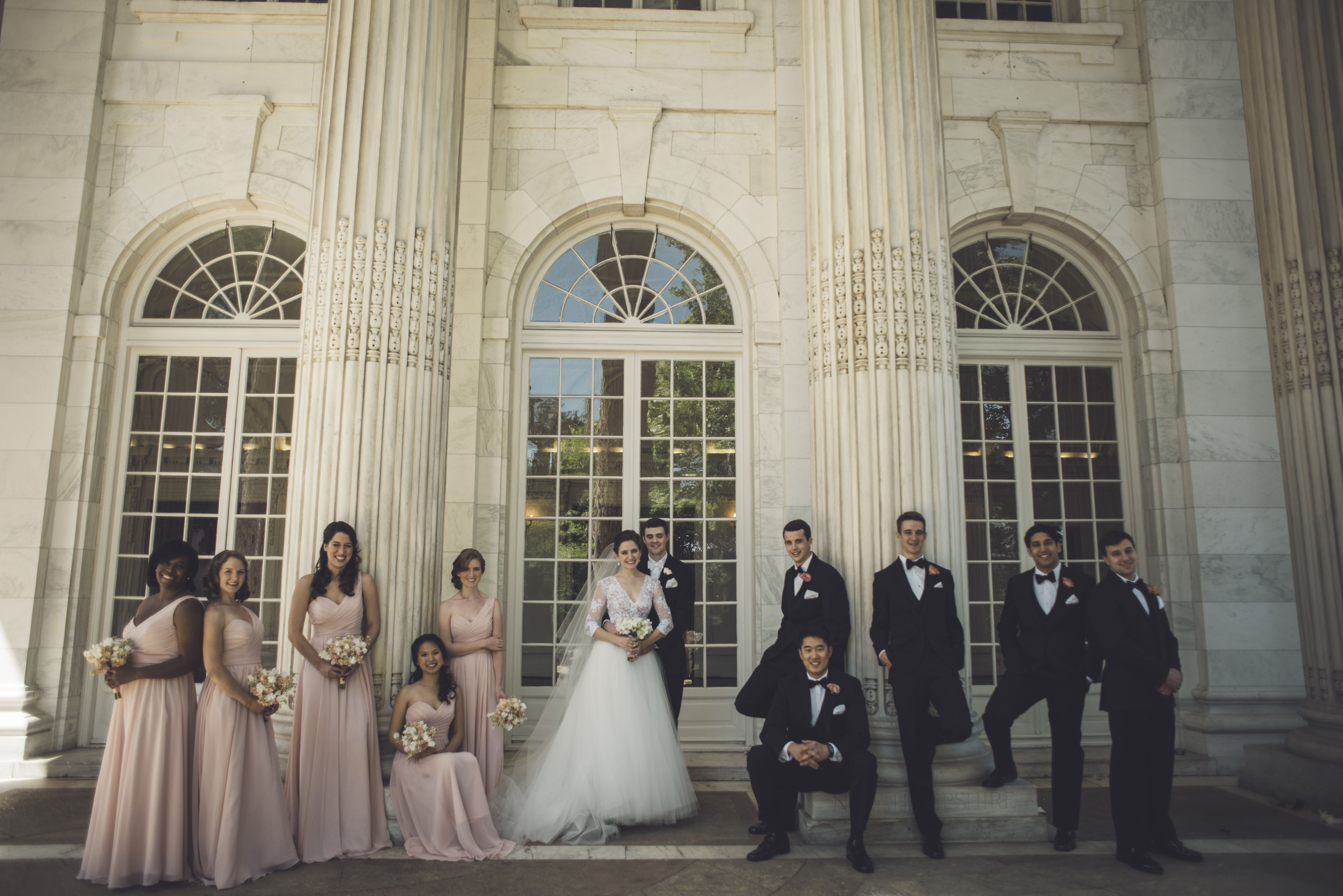 Wedding dress from carineus bridal designer of the top half is
