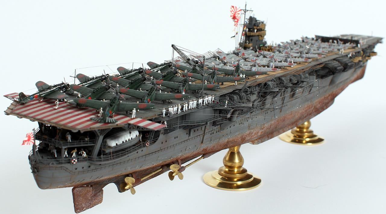 1/350 Hiryu Aircraft Carrier
