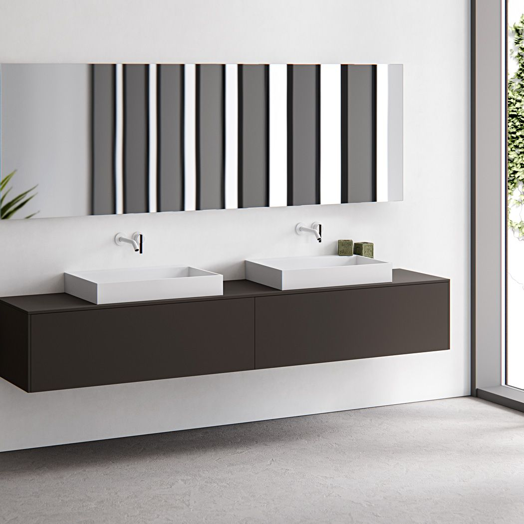 HI-MACS® combines clean lines with contemporary styling in basins by ...