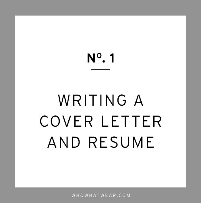 Cover Letter Advice Extraordinary The Crucial Career Advice We Wish We Had Heard Sooner  Perfect Decorating Design