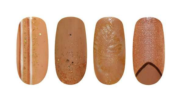 #neutral #nail #art ideas from Artistic Nail Design on http://www.salonmagazine.ca