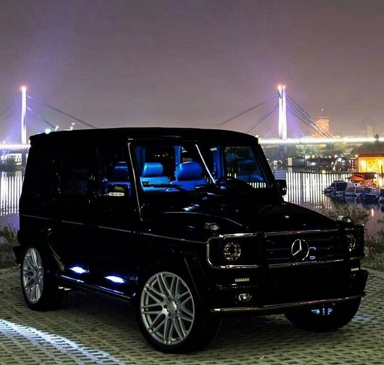 Gclass With A Blue Interior With Images Mercedes Car Mercedes