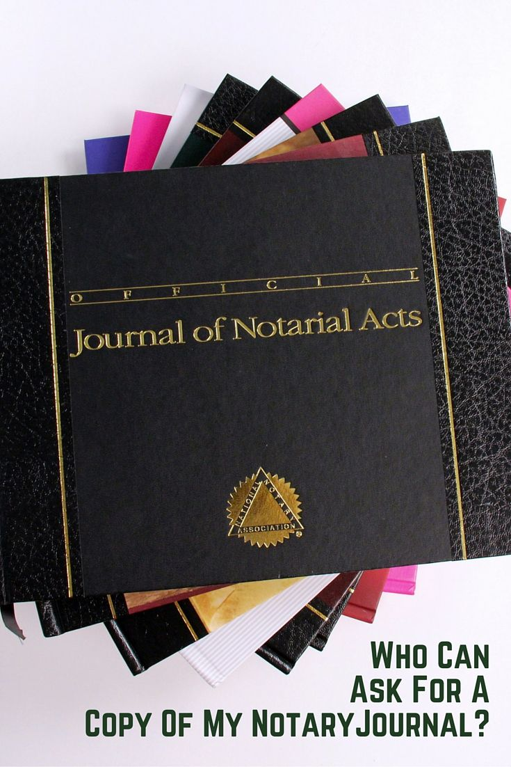 California notaries find out who can request a copy of