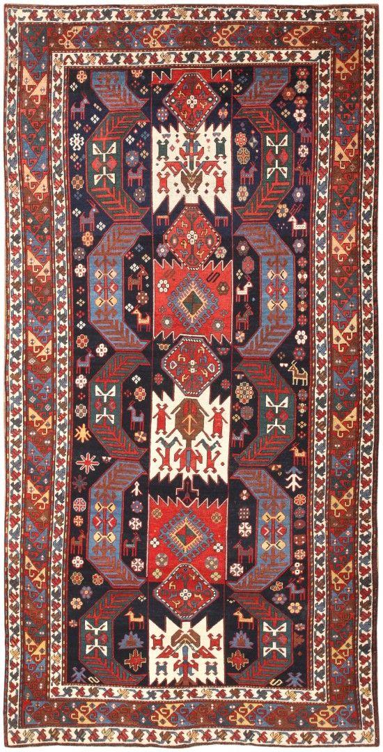 tribal antique caucasian kazak rug 47070 by nazmiyal teppiche und genie en. Black Bedroom Furniture Sets. Home Design Ideas