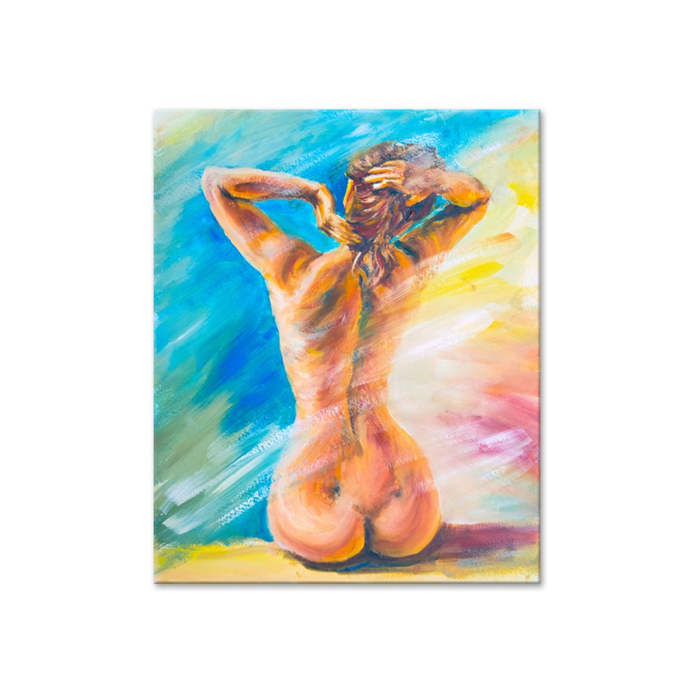 Unframed Sexy Women Nude Girl Oil Painting On Canvas Arts Home Wall Decor Modern Canvas Painting