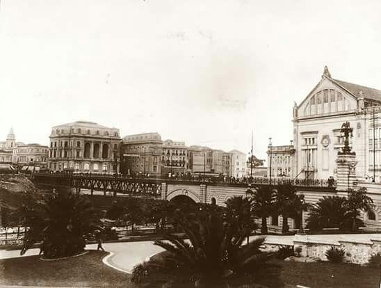 Viaduto do Chá - 1916