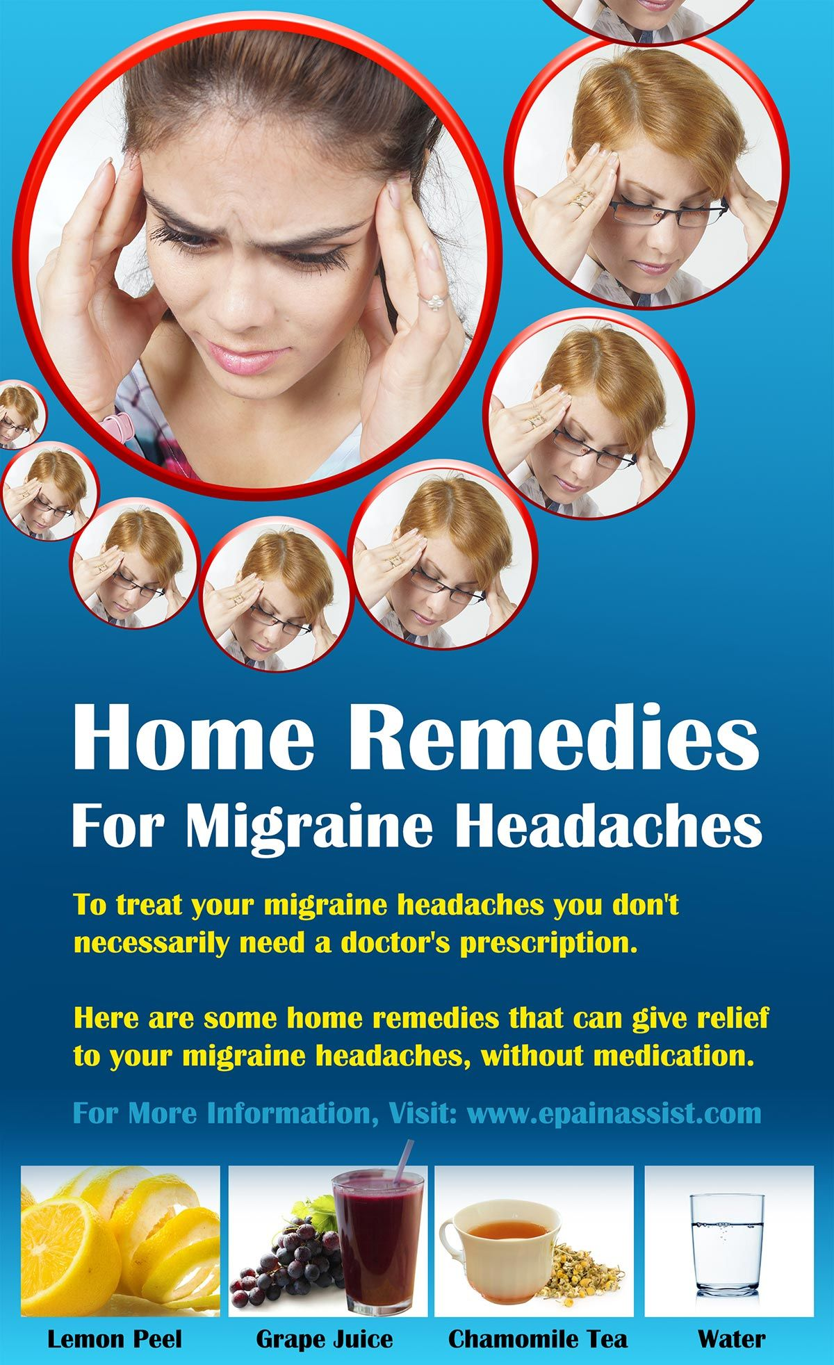 Home Reme s For Migraine Headaches