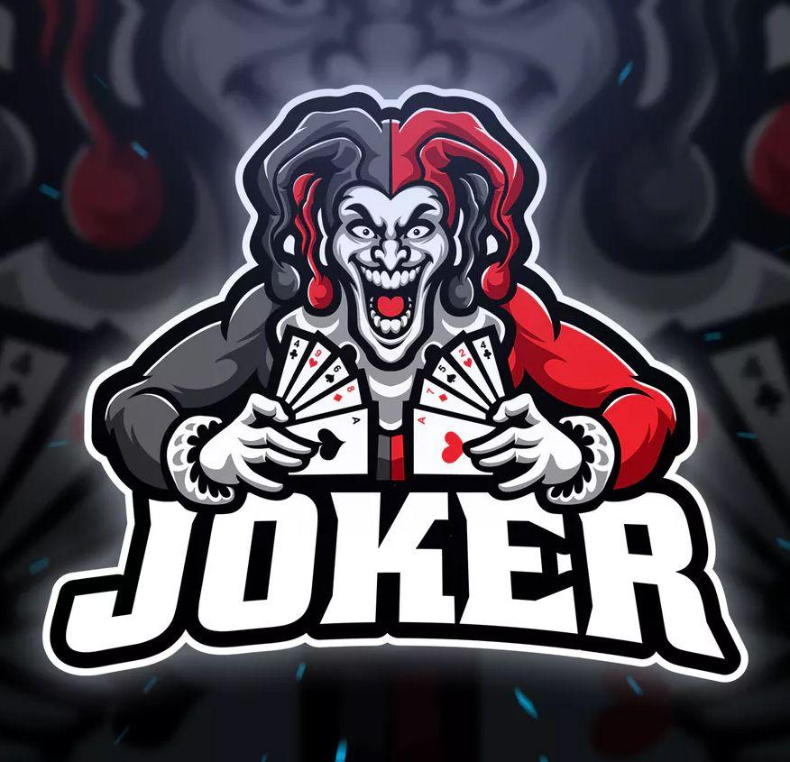 Joker Sport and Esport Logo Template AI, EPS. Download